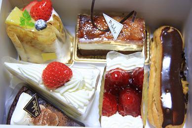 沼津【ドルセ】のケーキ