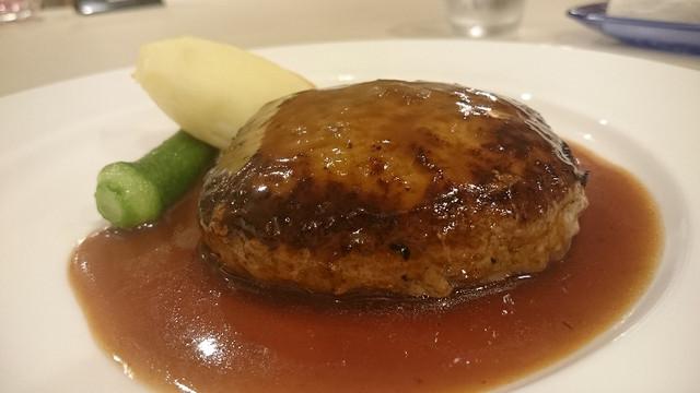 Ristorante Aura「レストランアウラ 黒毛和牛ハンバーグ」沼津